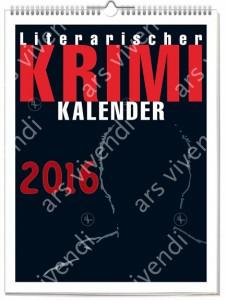 """Cover von """"Literarischer Krimi-Kalender 2015"""""""